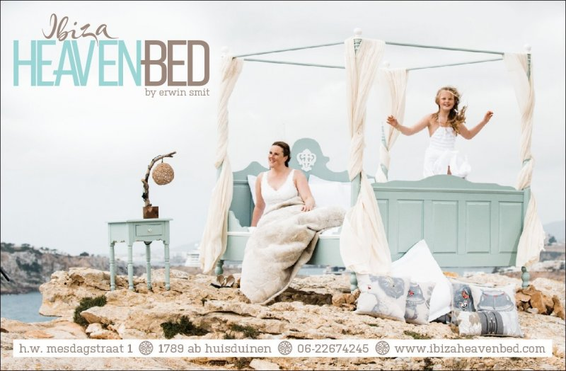 Ibiza Heaven Bed meets Mindsz