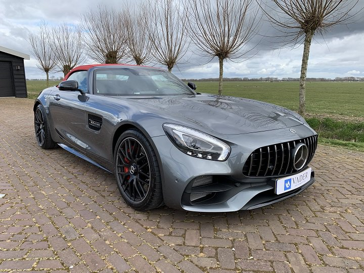 Mercedes-Benz AMG GT C Roadster Performance Dynamic Nappa Airscarf